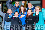 World Rowing champion Monika Dukarska Killorglin celebrates with her parents Katarzyna and Jacek and friends  at her homecoming in Killorglin on Tuesday