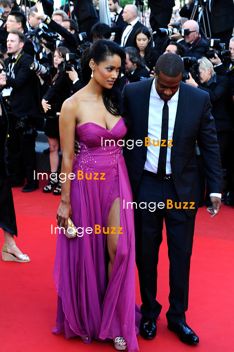 """Chris Tucker and girlfriend attends the """" Killing them softly """" premiere at the 65th Cannes Film Festival at the Palais des Festivals..May 22, 2012"""