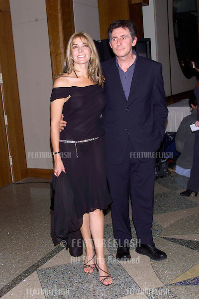 Actress NATASHA RICHARDSON & actor GABRIELLE BYRNE at Amnesty International's Fourth Annual Media Spotlight Awards, in New York. Richardson & Byrne were the hosts for the event.