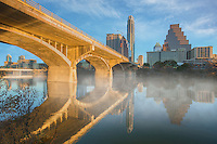 My fingers were so cold on this late January morning while photographing the skyline of Austin and its reflection in Lady Bird Lake. The temperature was 38 degrees, but the view from Congress was worth the mild discomfort!