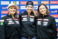 20150127: SLO, Alpine Ski - Press conference of Slovenian Women Ski Team