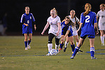 Oxford High's Nicole Hayward (25) vs. Saltillo in girls high school soccer in Oxford, Miss. on Friday, December 14, 2012.