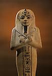 Limestone shabti, Tutankhamun and the Golden Age of the Pharaohs, Page 253 left