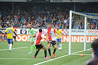 VOETBAL: LEEUWARDEN: 16-08-2015, SC Cambuur - Feyenoord, uitslag 0-2, Michiel Kramer (#31) scoorde het eerste doelpunt voor Feyenoord, ©foto Martin de Jong