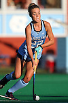 23 September 2016: North Carolina's Eva van't Hoog (NED). The University of North Carolina Tar Heels hosted the Syracuse University Orange at Francis E. Henry Stadium in Chapel Hill, North Carolina in a 2016 NCAA Division I Field Hockey match. UNC won the game 3-2 in two overtimes.