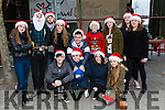 Enjoying the Christmas Lights in Listowel were front  Liam Halpin, Ellen Keane, Erin Halpin, Katie Keane, Back Laura Keane, Lorraine Fitzgerald, Ryan Lawlor, Cahal Mullin, Mary Keane, Alex Jimanaz, Billy Stack, Shauna Slemon, Siobhan Keane