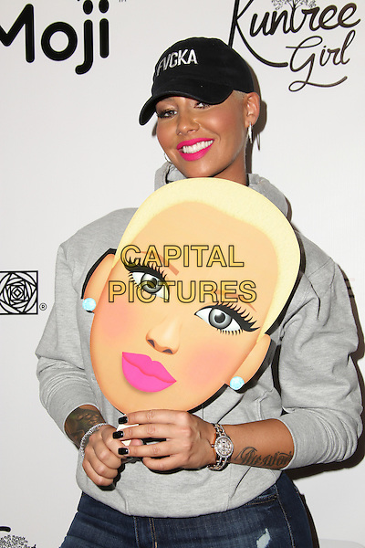 HOLLYWOOD, CA - Mar 30, 2016: Amber Rose attends Amber Rose Unveils Her New &quot;Muva Moji&quot; Icons at Exclusive Hollywood Event. Dave &amp; Buster's, Hollywood, CA, March 30, 2016. <br /> CAP/MPI/AMP<br /> &copy;AMP/MPI/Capital Pictures