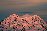 Lenticular Clouds Over Mt. Rainier. Jim Bryant Photo. ©2012. All Rights Reserved...