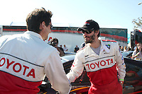 Adrien Brody & Keanu Reeves.drops by Toyota Celebrity Race Press Day - Toyota Long Beach Grand Prix.Hollywood Blvd.Long Beach, CA.April 6, 2010.©2010 Kathy Hutchins / Hutchins Photo...