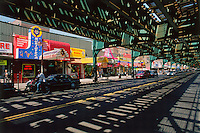 Under the Subway, Roosevelt Ave, New York CIty, Queens