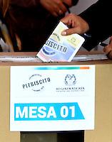 Plebicito Por La Paz / Plebiscite for Peace 02-10-2016