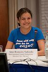 Ana Romero Salcedo (Mexico) International Youth Delegate, Bonn Climate talks. (©Robert vanWaarden All Rights Reserved)