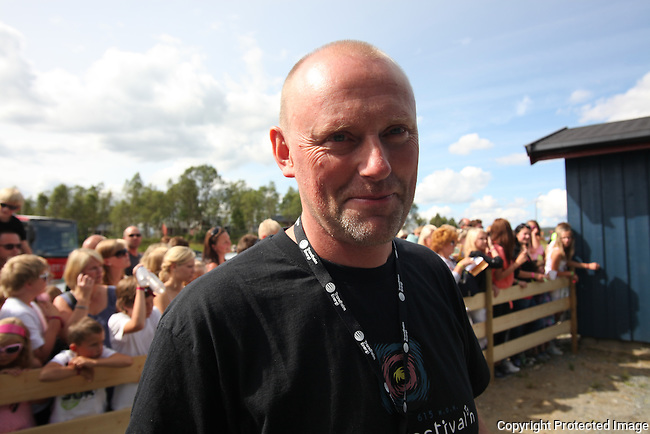 Toralf &Oslash;ver&aring;s, programansvarlig. Tydalsfestivalen. Foto: Bente Haarstad