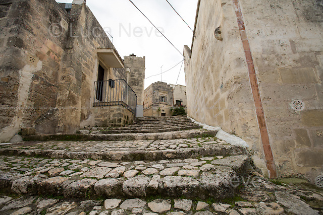 Matera (Basilicata, Italy), 27/12/2015. Visiting Matera, &lt;&lt;a city and a province in the region of Basilicata (Lucania), in southern Italy. It is the capital of the province of Matera and the capital of Basilicata from 1663 to 1806. The town lies in a small canyon carved out by the Gravina. Known as &quot;la Citt&agrave; Sotterranea&quot; (the Subterranean City), Matera is well known for its historical center called &quot;Sassi&quot;, considered World Heritage Site by UNESCO since 1993, along with the Park of the Rupestrian Churches. On October 17, 2014, Matera was declared Italian host of European Capital of Culture for 2019 (along with Plovdiv, Bulgaria). [&hellip;]&gt;&gt; (Source - Wikipedia.org - http://bit.ly/1PB1pbs ). Numerous movies were filmed in Matera, amongst others: La Lupa 1953 - Alberto Lattuada; C'era Una Volta 1967 - Francesco Rosi; Allonsanfan 1974 - Paolo and Vittorio Taviani; Il Vangelo Secondo Matteo 1964 - Pier Paolo Pasolini; Cristo si &egrave; fermato a Eboli 1979 - Francesco Rosi; King David 1985 - Bruce Beresford; The Star Maker 1995 - Giuseppe Tornatore; The Passion of the Christ 2004 - Mel Gibson; Mary 2005 - Abel Ferrara; The Nativity Story 2006 - Catherine Hardwicke. Rumours circulating in Matera reported that the American Film Director, Francis Ford Coppola (&lt;&lt;[&hellip;] Born into a family of Italian immigrant ancestry, his paternal grandparents came to the United States from Bernalda, about thirty kilometre from Matera, Basilicata. His maternal grandfather, popular Italian composer Francesco Pennino, immigrated from Naples, Italy [&hellip;] - Source Wikipedia.org) is allegedly set to film is new movie in Matera and other areas of Basilicata in 2016.<br /> <br /> For more information please click here: http://www.comune.matera.it/en/tourist-information