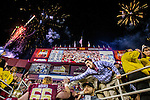 Personal Work<br /> <br /> Florida State fans cheer their Seminoles as they leave the field under fireworks after an NCAA football game against the Florida Gators in Tallahassee, November 29, 2014.