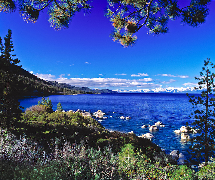Lake Tahoe Scenic Hidden Beach
