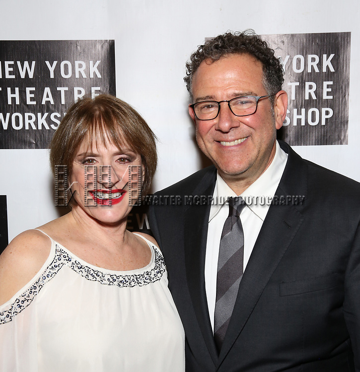 Patti LuPone and Michael Greif attend New York Theatre Workshop's 2017 Spring Gala at the Edison Ballroom on May 15, 2017 in New York City.