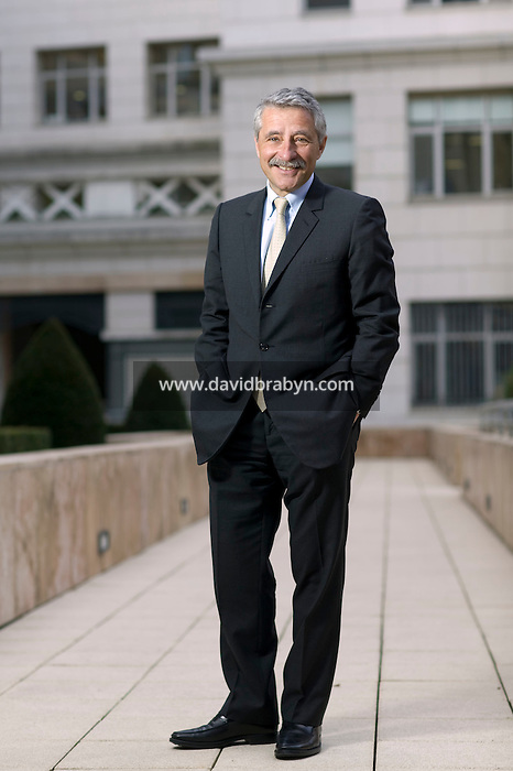Jean-Pierre Millet, managing director of The Carlyle Group, poses for the photographer at the company's offices in Paris , France, 23 January 2008.
