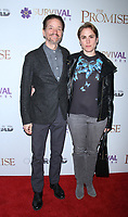 NEW YORK, NY April .18, 2017 Frank Whaley and Heather Bucha attend Survival Pictures and Open Road in partnership with Ambassador Zohrab Mnatsakanyan, Permanent Representative of Armenia to the United Nations host a special screening of The Promise  at the Paris Theatre in New York April 19,  2017. <br /> CAP/MPI/RW<br /> &copy;RW/MPI/Capital Pictures