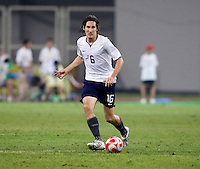 Sacha Kjlestan. The USMNT tied the Netherlands, 2-2, during the 2008 Beijing Olympics in Tianjin, China.