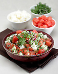 Jicama - Watermelon Salad
