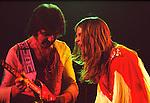 Black Sabbath 1973 Ozzy Osbourne and Tony Iommi..© Chris Walter....