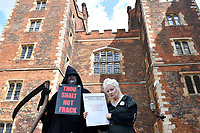 MAY 24 Dame Vivienne Westwood fracking protest