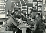 A scene from the Moscow military trade school in Leningrad during the Soviet Union. ..Russian military school at the Leningrad State University in 1969 which was celebrating 100 years of the birth of Lenin.