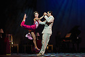 London, UK. 30.01.2013. Tango Fire Company presents FLAMES OF DESIRE at the Peacock Theatre. Picture shows: Gonzalo Cuello and Melody Celatti. Photo credit: Jane Hobson.