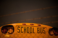 Night Photography at the San Francisco School Bus Depot - August 26, 2010