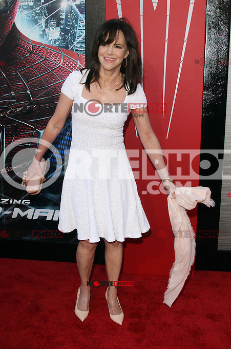 Sally Field at the premiere of Columbia Pictures' 'The Amazing Spider-Man' at the Regency Village Theatre on June 28, 2012 in Westwood, California. &copy; mpi22/MediaPunch Inc. *NORTEPHOTO.COM*<br />