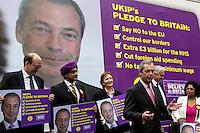 30.03.2015 - Nigel Farage Unveils UKIP Electoral Poster & Key Pledges