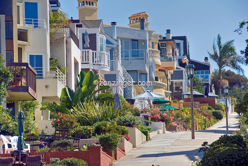 Manhattan Beach Ca Walk Street To Strand Hill Southwestern Los Angeles County Santa Monica