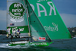 Day six of the JJ Giltinan 18 Ft Skiff championship 2007 in the Sydney Harbour.