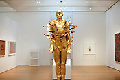 """""""Tar Baby vs. St. Sebastian"""" by Michael Richards, who was killed in the attacks of Sept. 11, 2001."""