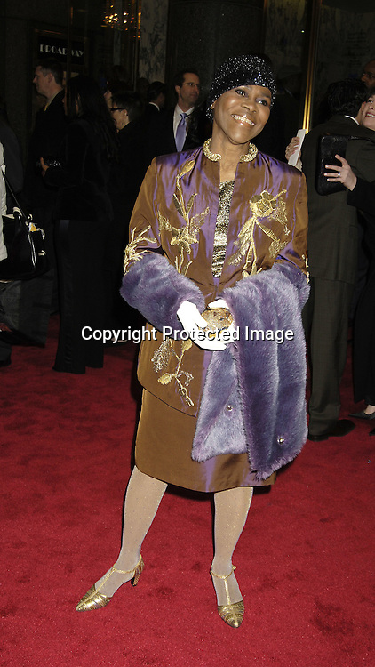 "Cecily Tyson ..arriving at the Broadway opening of ""The Color Purple"" ..produced by Oprah Winfrey on December 1, 2005 ..at The Broadway Theatre...Photo by Robin Platzer, Twin Images"
