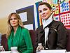 Queen Rania & Melania Trump At Excel Academy Public Charter Schoo
