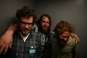 Megafaun after a night of drinking during the 2008 SXSW music festival in Austin, TX.