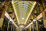 Leadenhall Market, The City, London, England, UK
