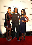 """Bernice Burgos, Power 105.1 Breakfast Clubs' Leonard """"Charlamagne Tha God"""" McKelvey and Angela Yee Attend the Shawn Carter Foundation 2011 Carnival at Hudson River Park's Pier 54: The Shawn Carter Foundation's Exclusive Fundraising Event to Support its College Scholarship, NY 9/29/1111"""