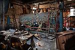 The Flooded and Frozen Boiler Room of Grossinger's Resort