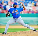 10 March 2012: New York Mets pitcher Rob Carson on the mound during a Spring Training game against the Washington Nationals at Space Coast Stadium in Viera, Florida. The Nationals defeated the Mets 8-2 in Grapefruit League play. Mandatory Credit: Ed Wolfstein Photo
