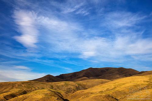 Shadow on Dead Indian Ridge, Idaho