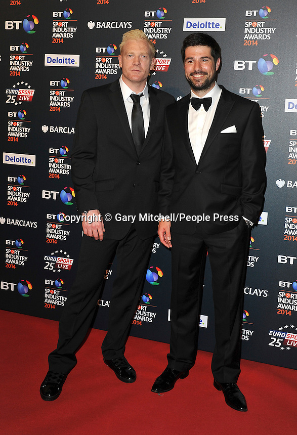 Iwan Thomas _ Craig Doyle attends the BT Sport Industry Awards at Battersea Evolution on May 8, 2014 in London, England