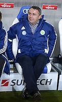 FUSSBALL  1. BUNDESLIGA  SAISON 2012/2013  14. SPIELTAG     TSG 1899 Hoffenheim - VfL Wolfsburg       18.11.2012 Manager Klaus Allofs (VfL Wolfsburg)