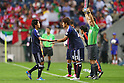 (L to R) Atsuto Uchida (JPN), Hiroki Sakai (JPN), .June 3, 2012 - Football / Soccer : .FIFA World Cup Brazil 2014 Asian Qualifier Final Round, Group B .match between Japan 3-0 Oman .at Saitama Stadium 2002, Saitama, Japan. .(Photo by Daiju Kitamura/AFLO SPORT) [1045]