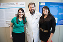 Lynsey Rangel, from left, Neil Hyman, M.D., Katie Murray. SURGERY SENIOR MAJOR SCIENTIFIC PROGRAM.