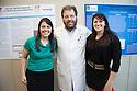 Lynsey Rangel, from left, Neil Hyman, M.D., Katie Murray. SURGERY SENIOR MAJOR SCIENTIFIC PROGRAM.