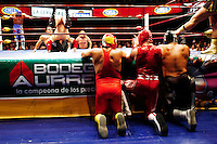 Lucha Libre in the coliseo in Mexico City