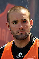 Brandon Barklage (24) of DC United. D. C. United defeated the New York Red Bulls 3-2 during a Major League Soccer match at Giants Stadium in East Rutherford, NJ, on April 26, 2009.